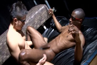 Black vs. Japan Guys (men having, gay emo, free online, oral sex)