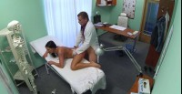 Hot Black Haired Women Cheats On Hubby With Doctor