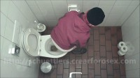 Public toilet spycam amateur urine and scat