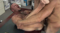 Muscle Wrestling Bears Bareback