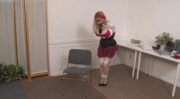 Bound and Gagged - School Uniform Bondage Victim gets Tied Up