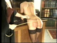 Naughty schoolgirl.