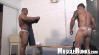 MuscleHunks - Muscle Grapplers Baker vs El Potro