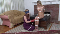 Bound and Gagged - The Blindfolded Rigger- Lorelei Ties Jana Jordan
