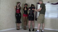Belle Davis And Enchantress Sahrye And Elizabeth Andrews Three Lady Latex Party (2015)