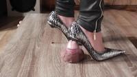 Download Lady Latisha Extreme Sadistic Heel Insertion Cruel Trample Cock Crushing Clip One (2014)