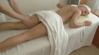 Nice body massage turned into hot sex