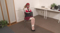 Bound And Gagged – School Uniform Bondage Victim Gets Tied Up
