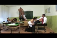 Bisexual Educaition: Bareback Orgy