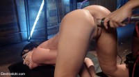 No Holds Barred: Daisy Ducati shocks & fucks lesbian pain slut!