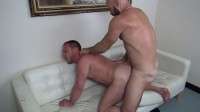 fucker raw cock cum shot bareback (Collin O'Neal fucks Hans Berlin).