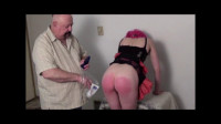 Natasha Plugged and Spanked