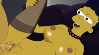Toon Sex-Homer Simpson fucks MargeFull HD