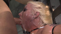 Big titted blonde Leya Falcon
