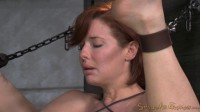 Redheaded  Veronica Avluv bound and fucked rough and hard!