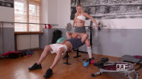 Nikky Dream — A Horny Blonde's Juicy Gym Blowjob