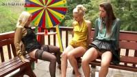 Libidinous Lesbian Watersports Threesome A.K.A. Pissy Pussy Players Ball