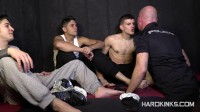 Hard Kinks — Cop's Hell 5 (Adrian Yuyu, Izann, Raul Male, Sergio Mutty)