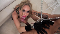 Porn mature beauty Brandi Love in chains
