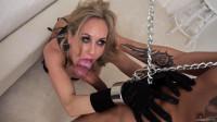 Porn mature beauty Brandi Love in chains