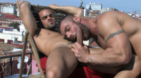 big dick muscle men anal sex - (Addicted)