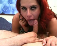 Red Head T-Girl Whore — Scene 3
