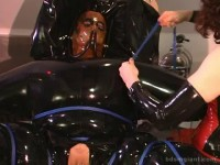 Just heavy rubber and orgasms