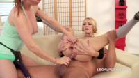 Tarra White Cutie Belle Claire caught banged by two monsters, Dp, first time fisted (2015)