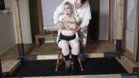 Olivia Panty Gagged Breast Bound and Bound in a 2 part - BDSM, Humiliation, Torture HD 720p