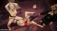 Date Night With a Dominatrix: Lesbian couple submits to Cherry Torn!