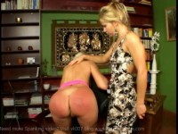 Scorched – Blonde Spanking