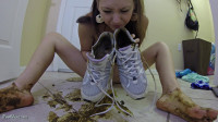 Smearing Sneakers Filesmonster Scat