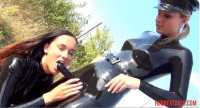 Rubber Traffic Stop, Dildo, Masked Strap-On Fuck Part Two (2014)