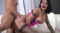 Foxxy Recieves Massive Creampie from Gio.