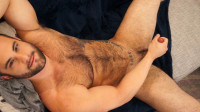 Dex Hammer is hung, furry and horny - takes, first time, model, hairy