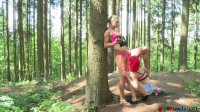 Anne Swix, Cristin Caitlin (Lesbian outdoor pussy eating fun FullHD 1080p