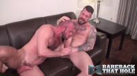 Rocco Steele and Matt Stevens , big gay bears dicks.