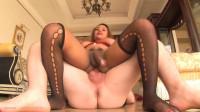 Jasmine - Juicy Ass Red Devil Big Cum Top
