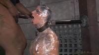 SexuallyBroken - Oct 29, 2014 - Sexy Syren De Mer saran wrapped, mummified and shackled