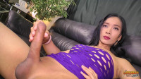 Palmy Jacks Her Big Cock! (2016)