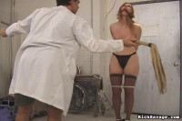 RickSavage Allanah's Painful Examination