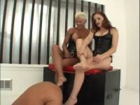 Goddess Heathers CBT & Ass Slave