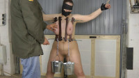 Tight bondage and tortures for boobs and nipples