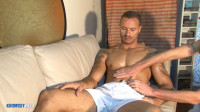 Vitor Massaged by Four Hands 1