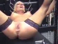 Tits pussy and ass extreme torture