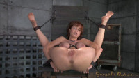 Redheaded MILF Veronica Avluv bound and fucked rough and hard