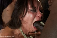 Hot Wife is Kidnapped, Bound, Fucked, and Finished off with Anal Creampie