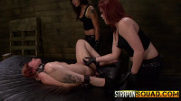 Isa Mendez & Kimber Woods Make Alessa Snow Cum with BDSM Fun