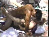 Big Sticks - gay interracial video.