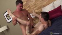 suck deep throating (Antonio Cervone & Zak Fit Raw).